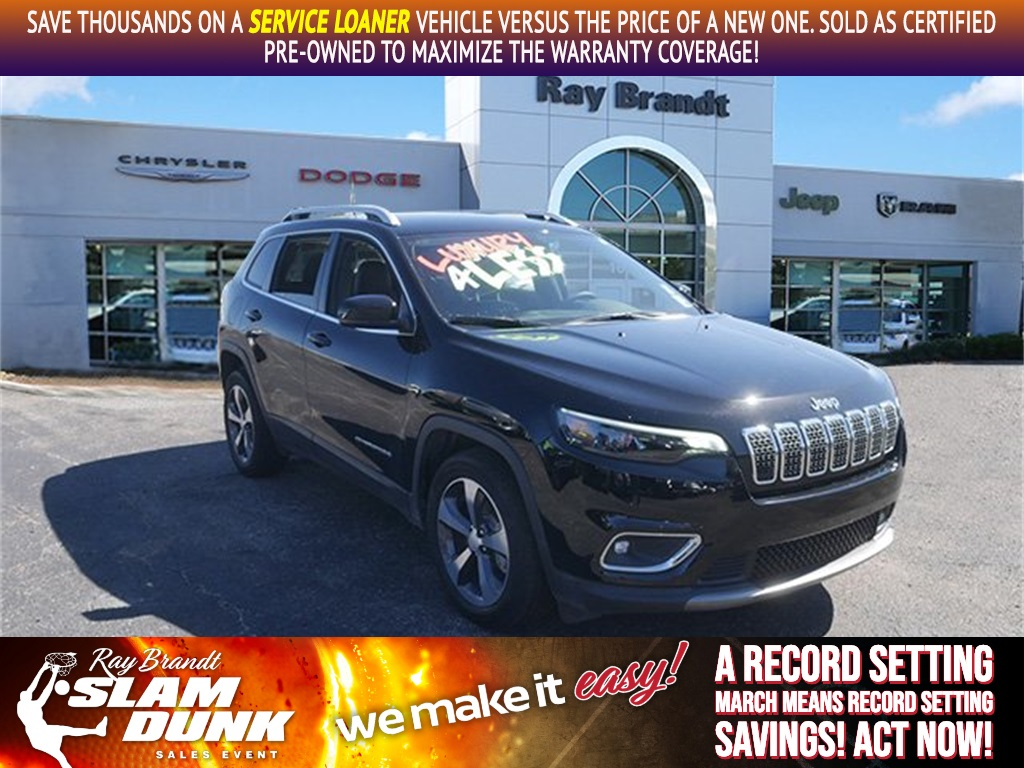 Jeep Certified Pre-Owned >> Certified Pre Owned 2019 Jeep Cherokee Limited 4d Sport Utility In