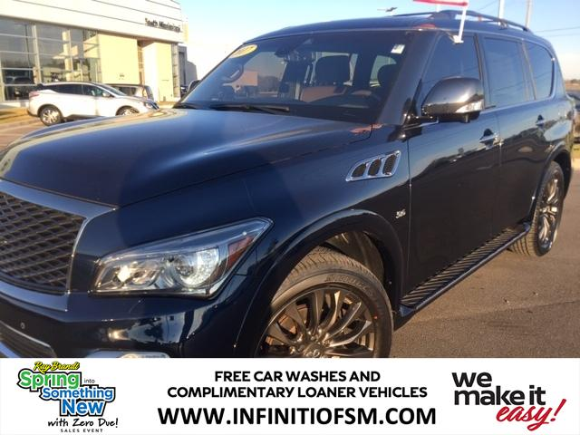 Pre Owned 2017 Infiniti Qx80 Limited