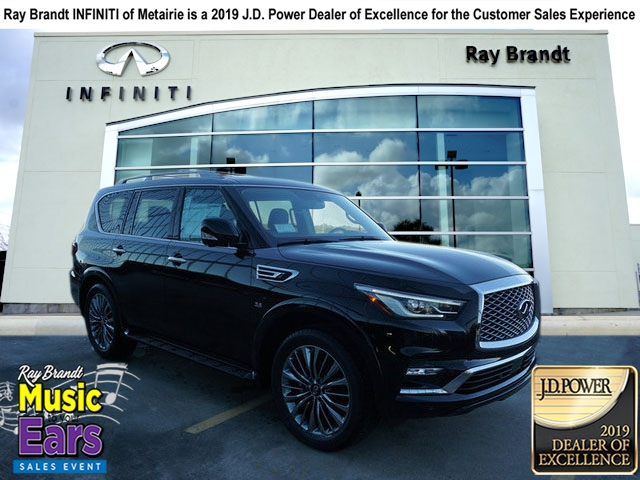 New 2019 Infiniti Qx80 Luxe Rwd Sport Utility In Harvey K460 Ray