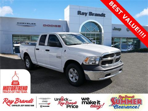 New 2018 Ram 1500 Tradesman RWD 4D Quad Cab