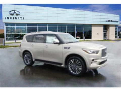 New 2019 INFINITI QX80 LUXE With Navigation & AWD