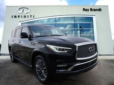New 2019 INFINITI QX80 LUXE With Navigation
